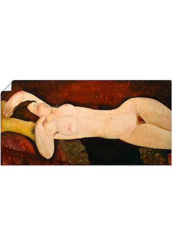 Artland Wandbild »Akt einer schlafenden Frau«, Frau, (1 St.), in vielen Größen &... kaufen