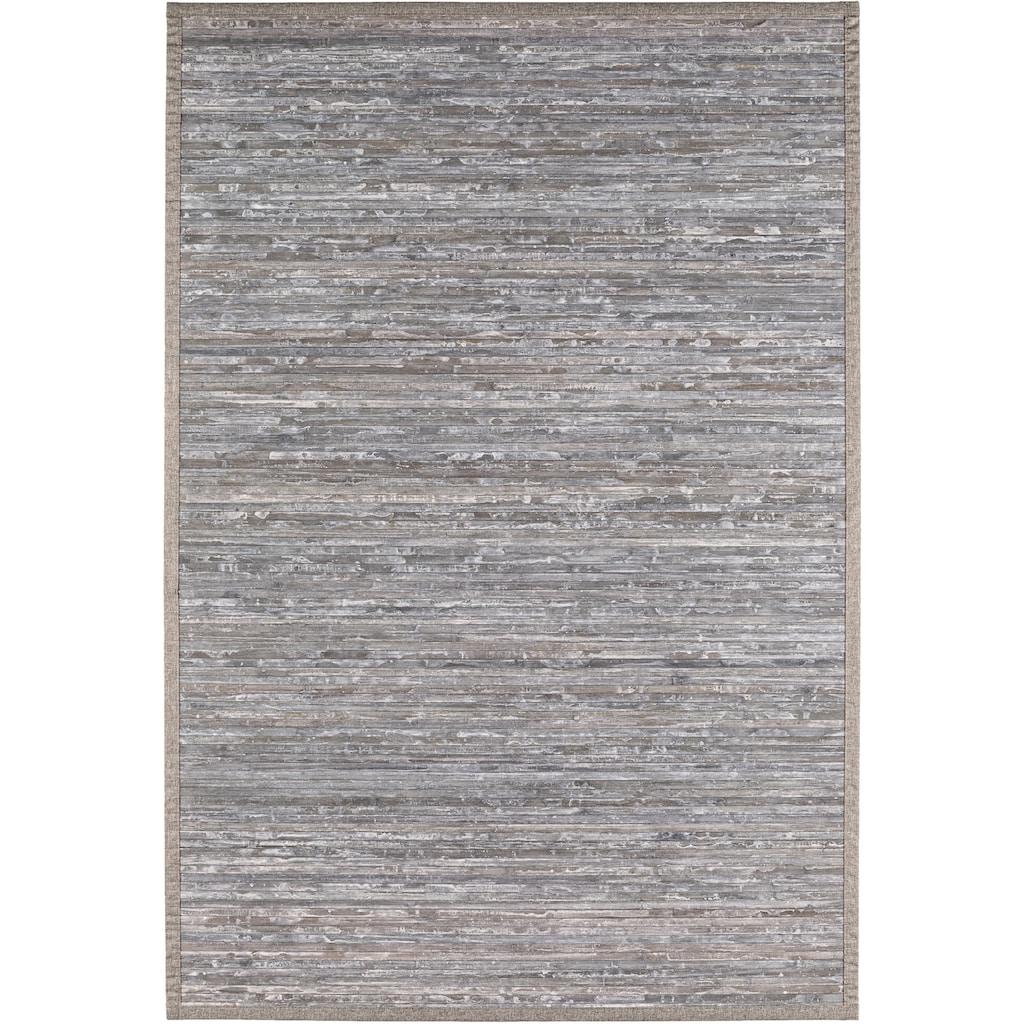 Andiamo Teppich »Bambus«, rechteckig, 17 mm Höhe, Wendeteppich, Wohnzimmer