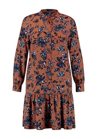 Samoon Druckkleid »Kleid mit Blumenprint EcoVero« kaufen