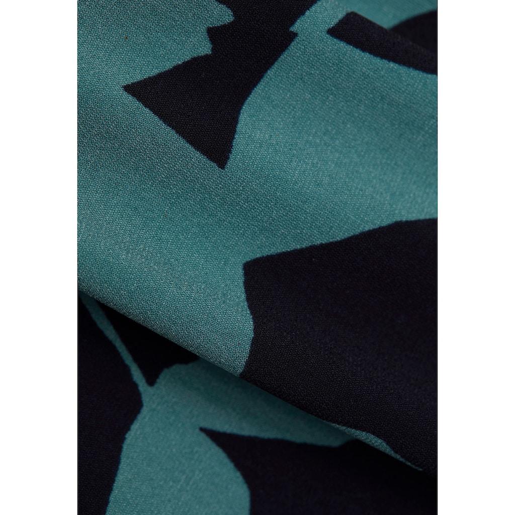 Esprit Collection Jerseykleid, in toller Wickeloptik