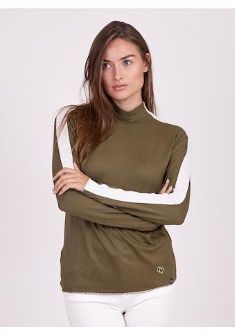Key Largo Langarmshirt, mit modischen Kontraststreifen kaufen