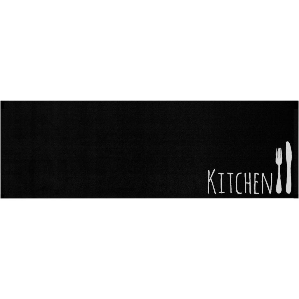 Zala Living Küchenläufer »Cutlery«, rechteckig, 5 mm Höhe, In- und Outdoor geeignet, waschbar