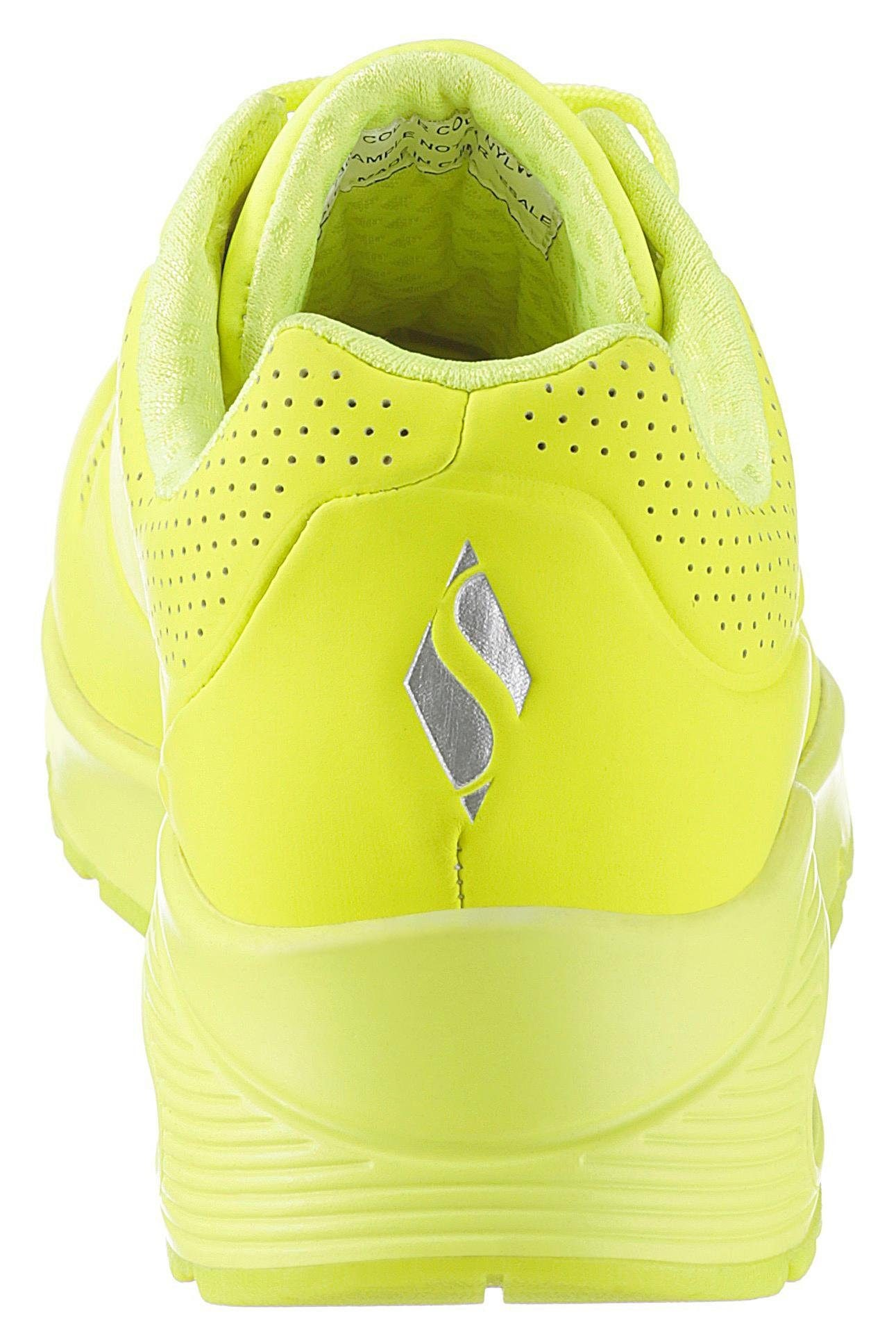 Details zu Skechers Wedgesneaker Uno Night Shades Schuhe Damen Wedge Sneaker
