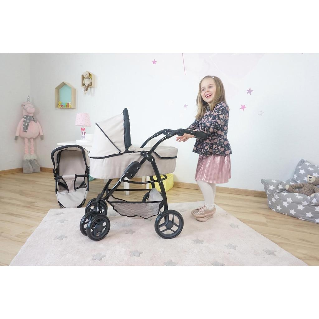 Knorrtoys® Puppenwagen »Coco - Beige«