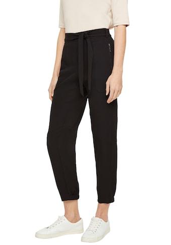 Comma Loungepants, mit Stoffgürtel zum Binden in modischer Ankle-Länge kaufen