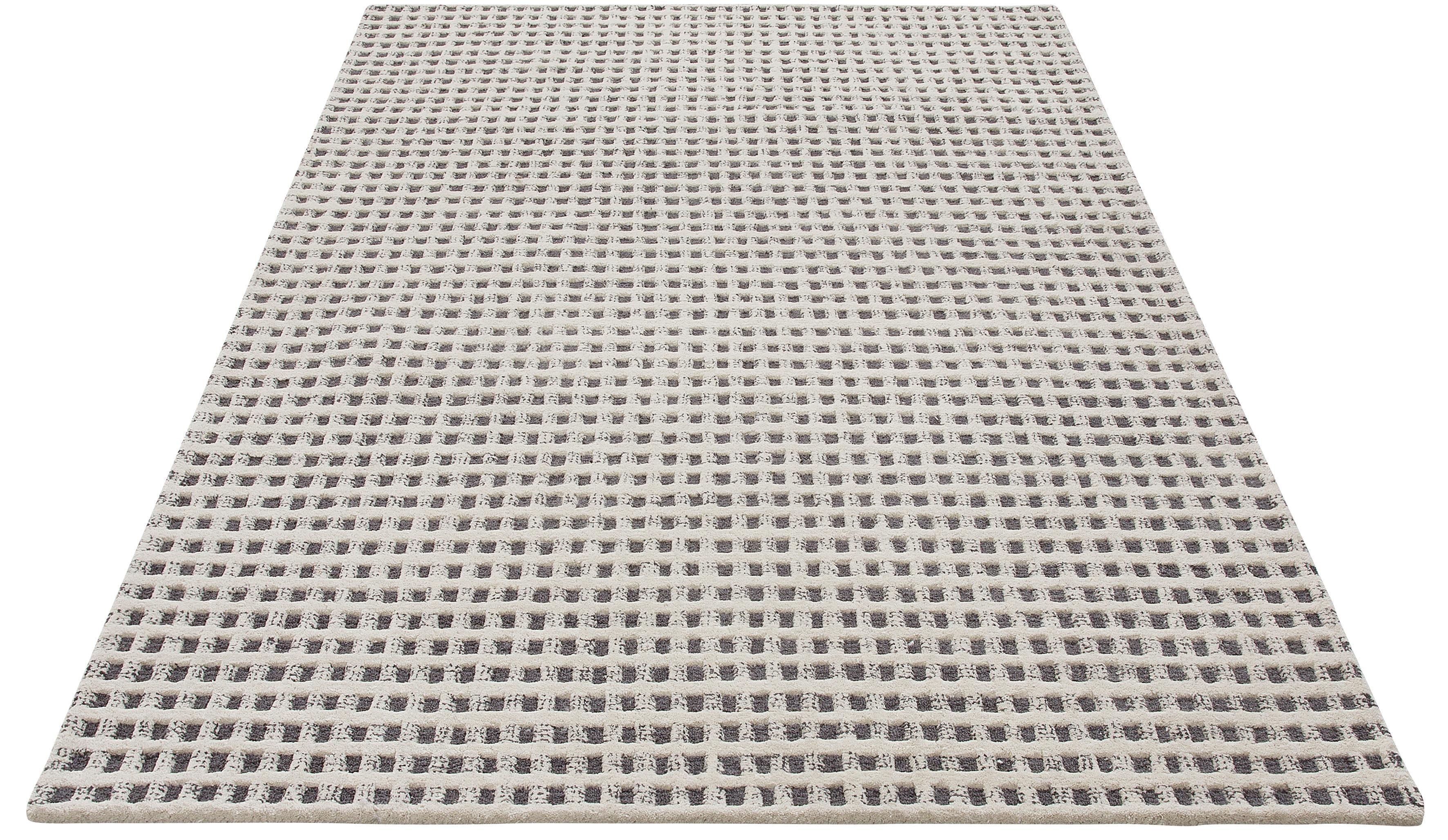Teppich Kubat Theko Exklusiv rechteckig Höhe 18 mm handgetuftet