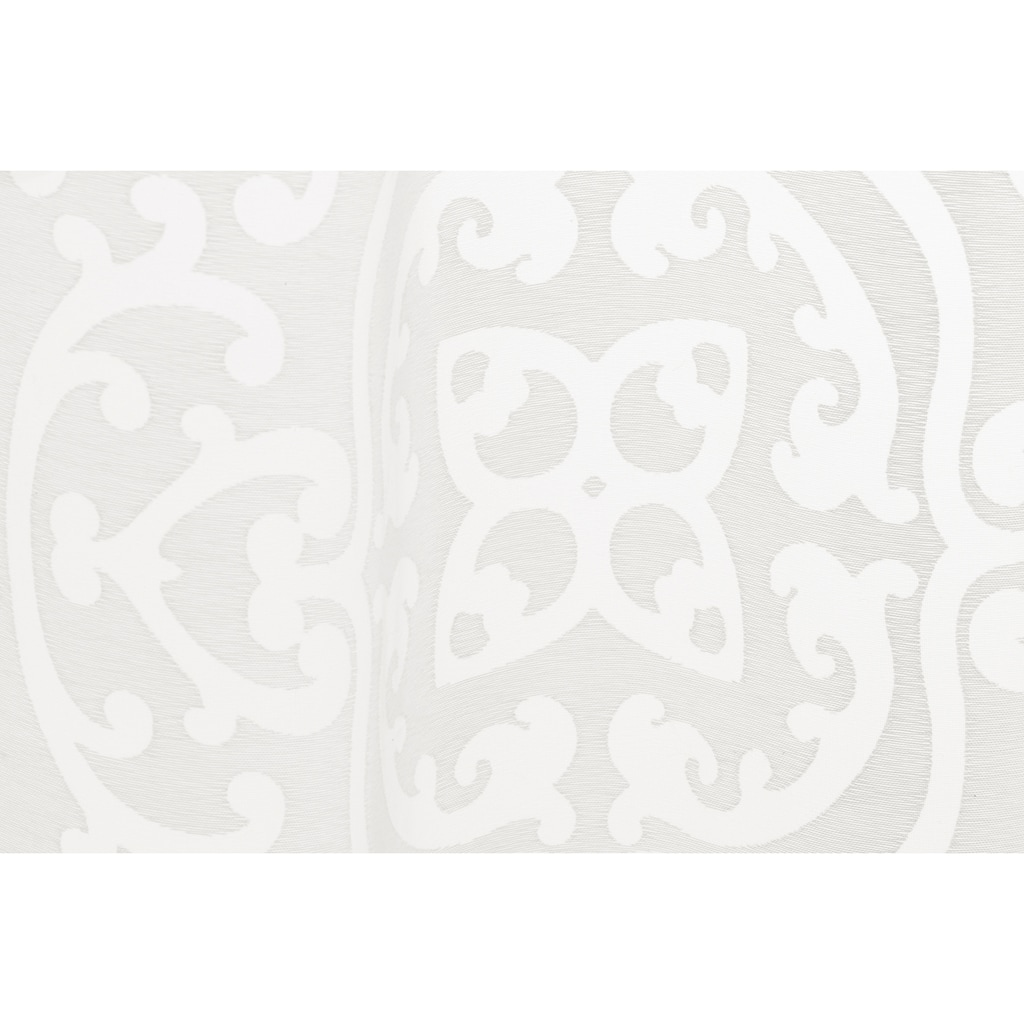 Gardine, »FD Globetrotter 00«, freundin Home Collection, verdeckte Schlaufen 1 Stück