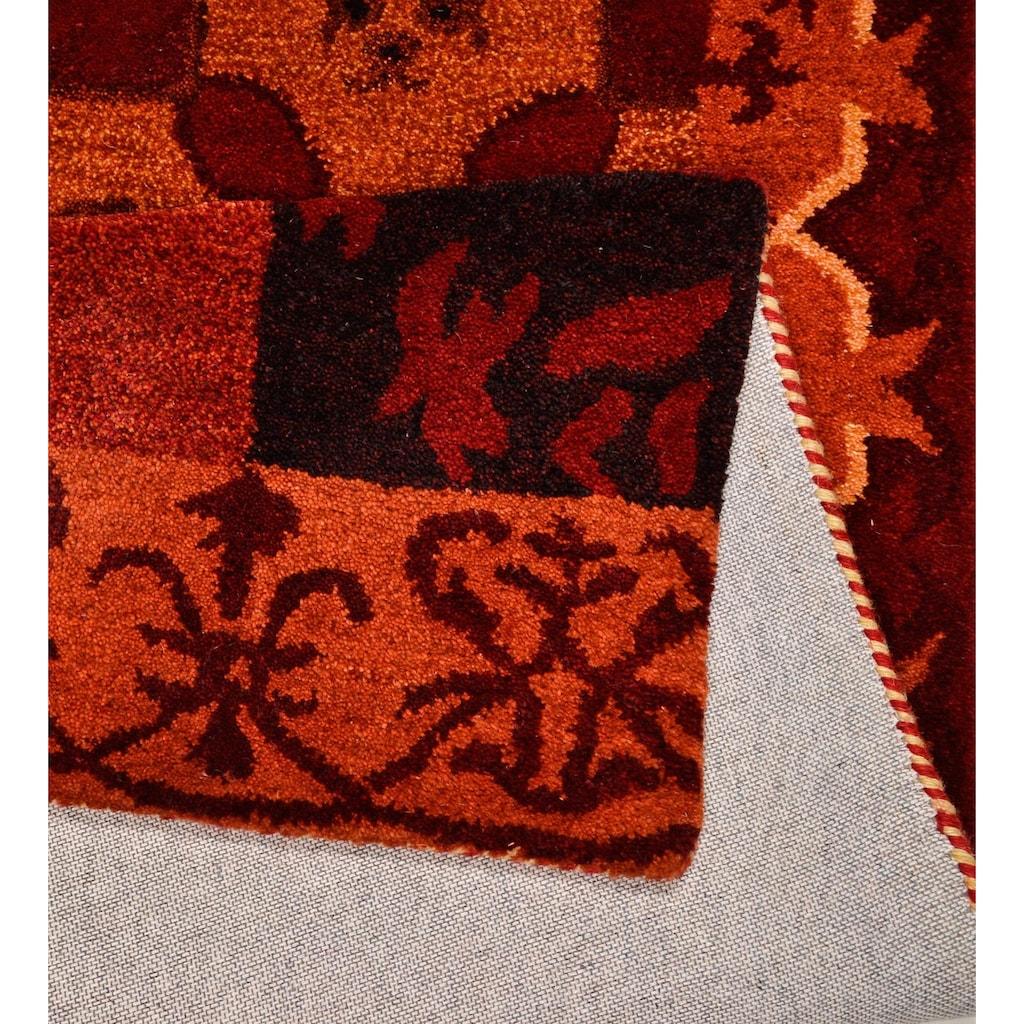 THEKO Wollteppich »Fauna«, rechteckig, 22 mm Höhe, reine Wolle, Wohnzimmer
