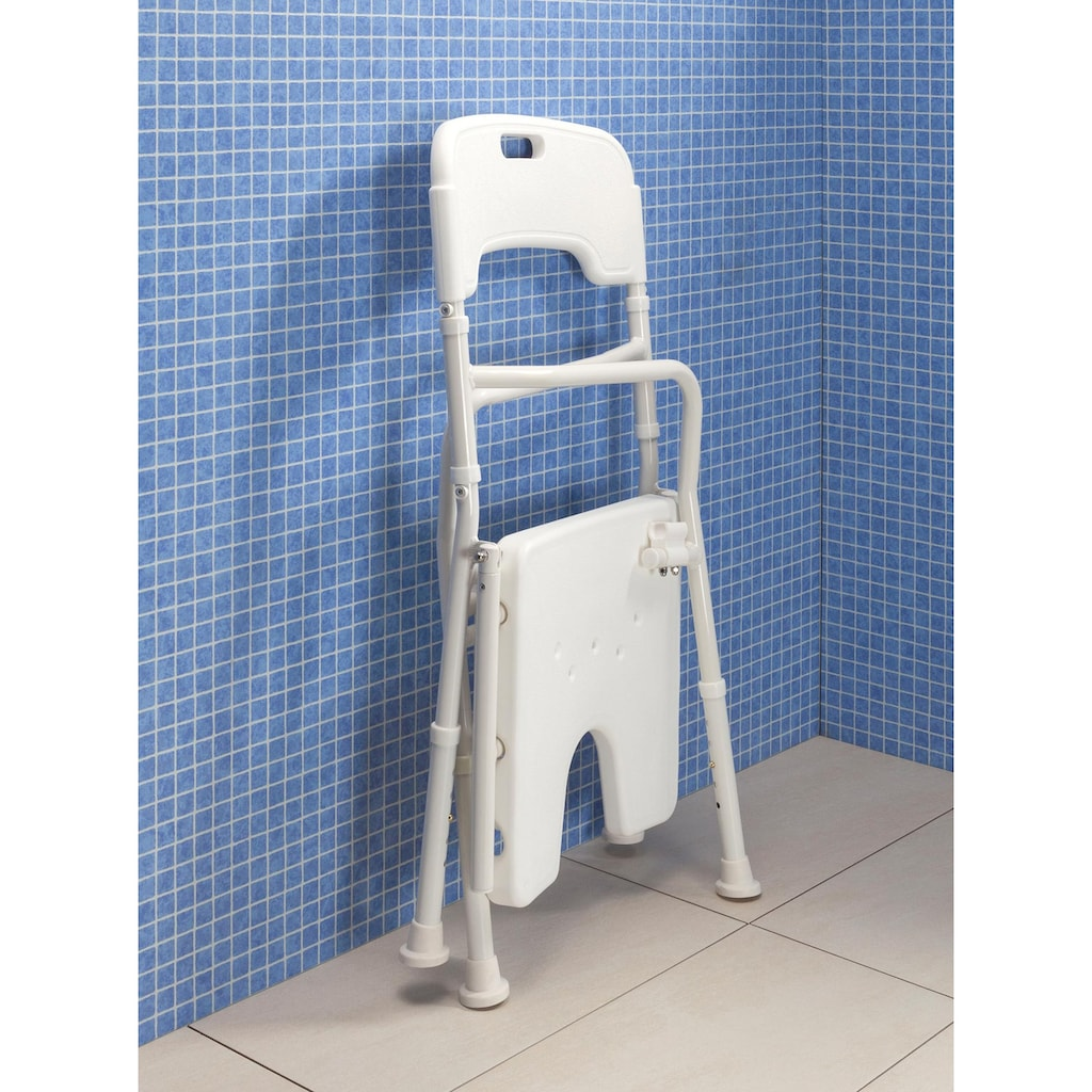 Faltbarer Duschstuhl