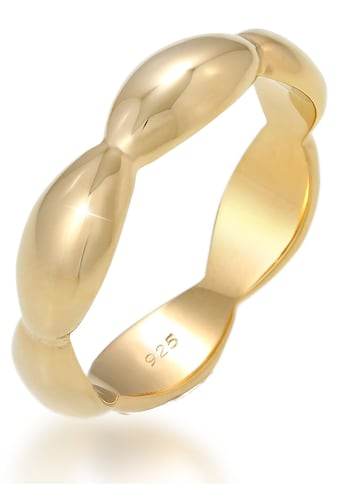 Elli Silberring »Bandring Basic Geschwungen Geo Look, 0612242019, 0612552019« kaufen
