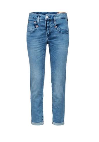 Herrlicher 7/8 - Jeans mit raffinierten Abnähern »Shyra Cropped« kaufen