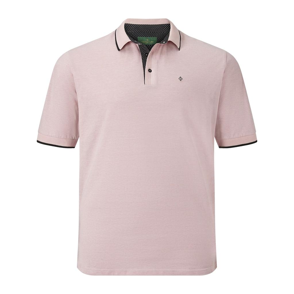 Charles Colby Poloshirt »EARL JACKSON«, mit raffinierten Kontrasten