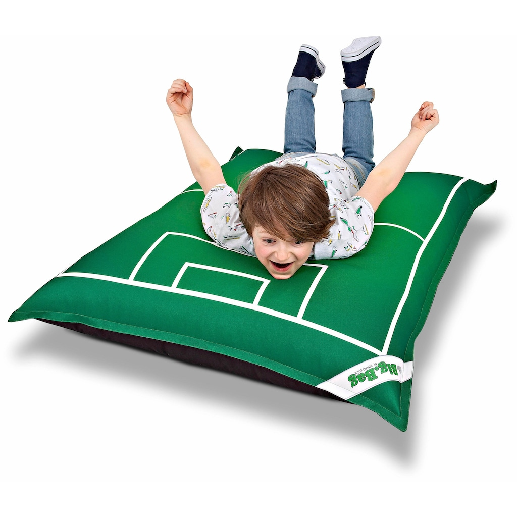 Sitting Point Sitzsack »Little BigBag Soccer«, Digitaldruck