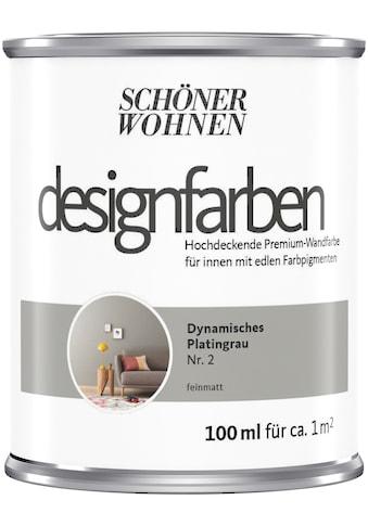 SCHÖNER WOHNEN-Kollektion Wand- und Deckenfarbe »Designfarben«, hochdeckend,... kaufen