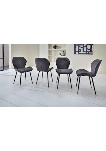 Duo Collection Esszimmerstuhl »Lena«, 4er-Set, elegante Rautensteppung kaufen
