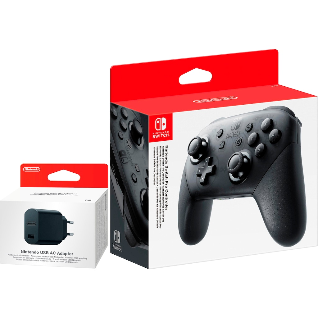 Nintendo Switch Controller »Pro«, inkl. AC Adapter