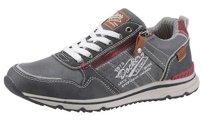 Dockers by Gerli Sneaker, mit modischem Zipper kaufen