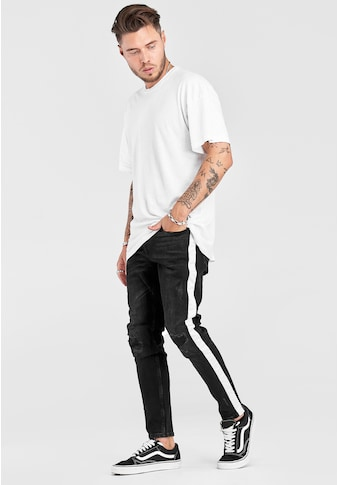 2Y Premium Slim-fit-Jeans »JOSS«, mit trendigen Seitenstreifen kaufen