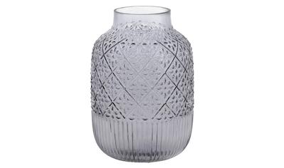 my home Dekovase, aus Glas, mit strukturierter Oberfläche, Höhe ca. 29 cm kaufen