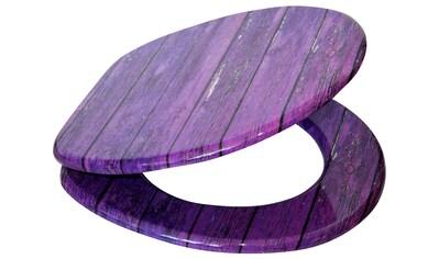 SANILO WC - Sitz »Purple Wall«, mit Absenkautomatik kaufen