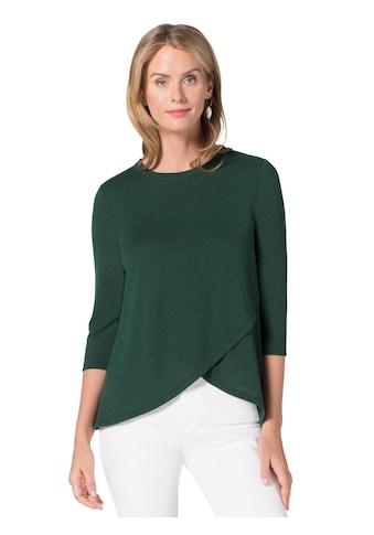 Ambria Shirt in kaschierender Wickel - Optik kaufen