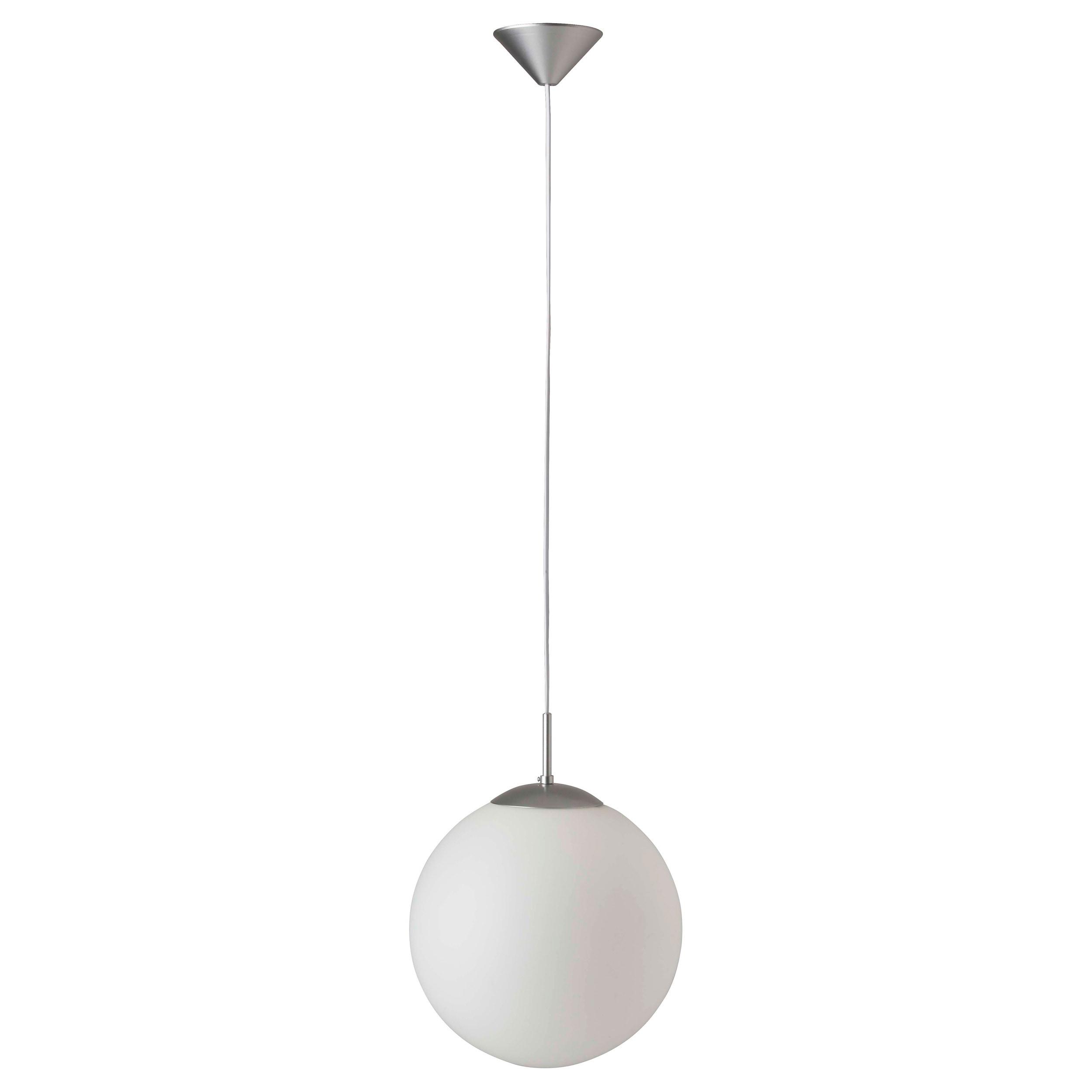 Brilliant Leuchten Fantasia Pendelleuchte 30cm silber/weiß