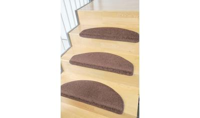 Living Line Stufenmatte »Trend«, halbrund, 8 mm Höhe, große Farbauswahl, Velours, 15 Stück in einem Set kaufen