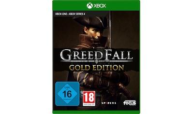 Focus Spiel »GreedFall - Gold Edition«, Xbox Series X kaufen