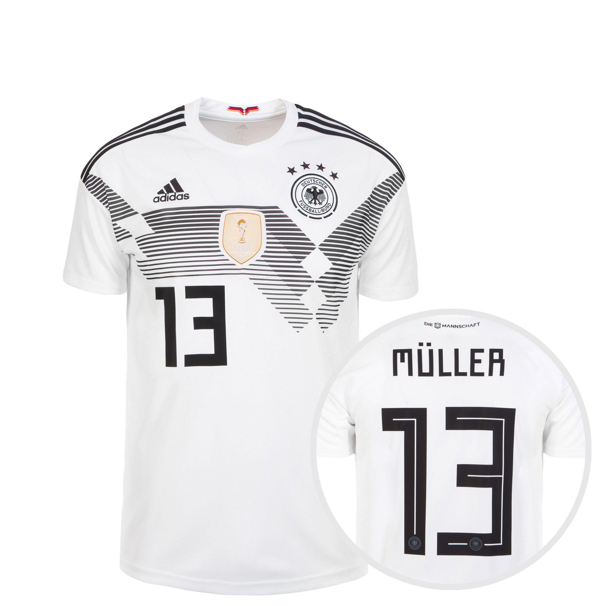 adidas Performance Fußballtrikot Dfb Trikot Müller Wm 2018 Heim Preisvergleich