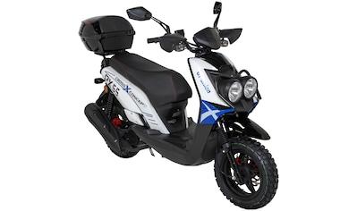 GT UNION Motorroller »PX 55 Cross-Concept«, 50 cm³, 45 km/h, Euro 5, 3 PS, 50 ccm, 45... kaufen