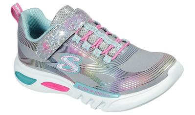 Skechers Kids Sneaker »GLOW-BRITES«, mit glitzerndem Klettverschluss kaufen