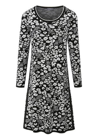 Basler Strickkleid, mit Animalprint und Punkten kaufen