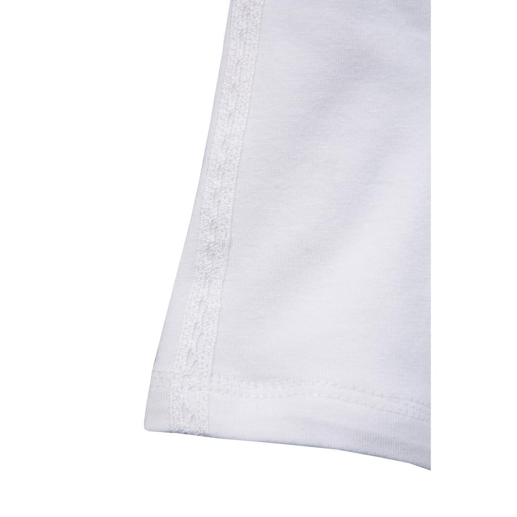 MarJo Trachtenshirt, mit Zierspitze an der Vorderseite