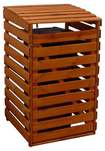 PROMADINO Mülltonnenbox , für 1x240 l aus Holz, B/T/H: 67/90/122 cm kaufen