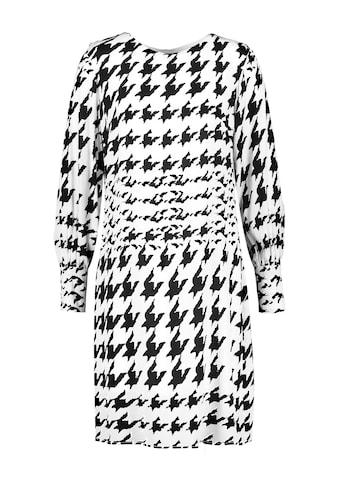 Taifun Midikleid »Kleid mit Hahnentrittmuster« kaufen