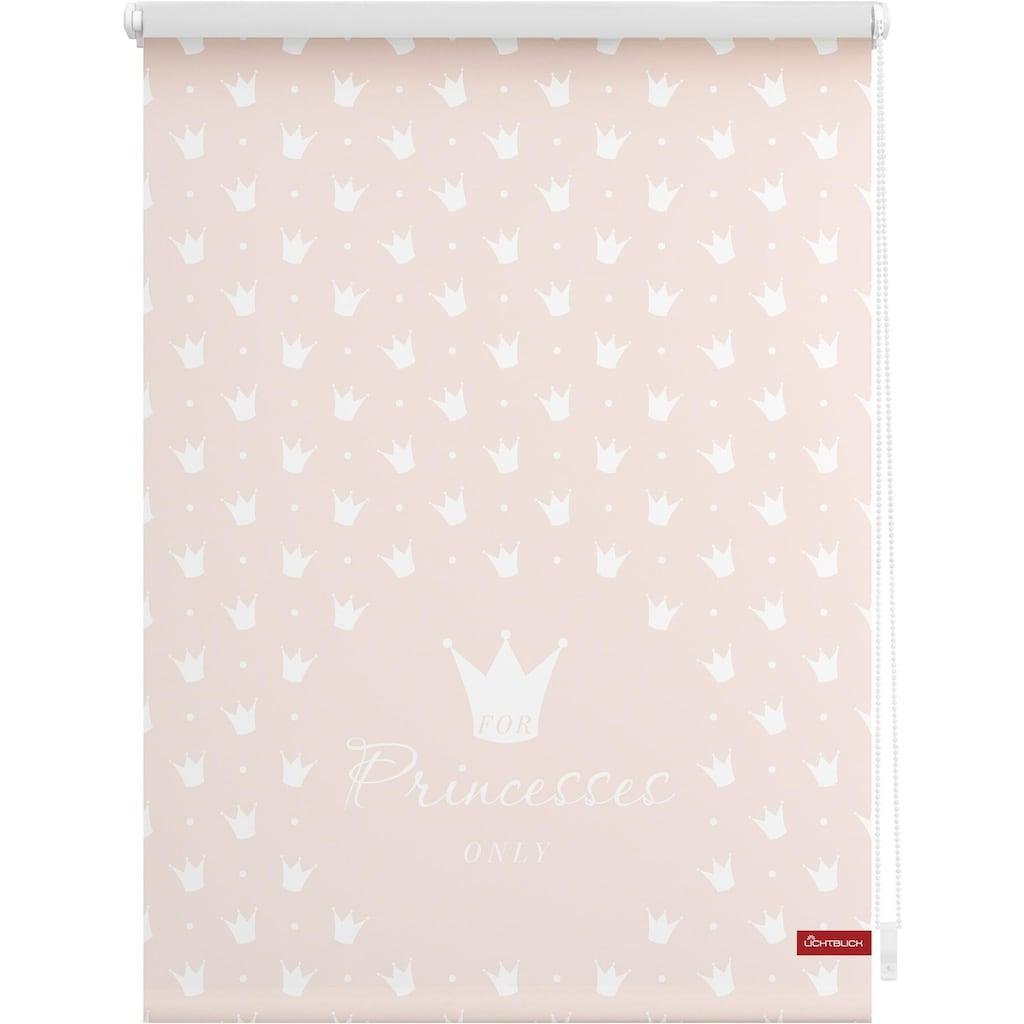 LICHTBLICK Seitenzugrollo »Klemmfix Motiv Prinzessin Lilly«, Lichtschutz, ohne Bohren, freihängend, bedruckt