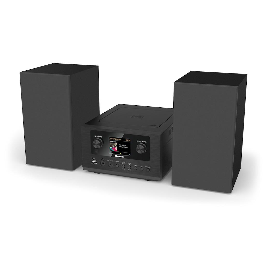 Karcher Stereoanlage »MC 6490DI«, (WLAN-Bluetooth-CD Digitalradio (DAB+)-Internetradio 5 W), mit Bluetooth und Internetradio-mit Bluetooth