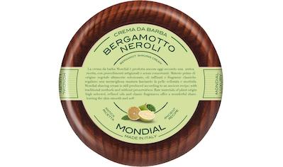 Mondial Antica Barberia Rasiercreme »Luxury Shaving Cream Wooden Bowl Bergamotto Neroli« kaufen