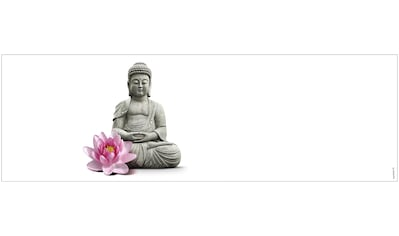 MYSPOTTI Badrückwand »mySPOTTI aqua Buddha«, Höhe: 45 cm kaufen