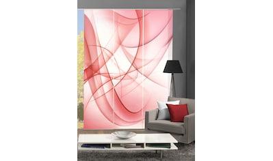 HOME WOHNIDEEN Schiebegardine »AMIRA«, blickdicht, Digital bedruckt kaufen