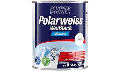 SCHÖNER WOHNEN-Kollektion Weißlack »Polarweiss«, glänzend, 750 ml kaufen