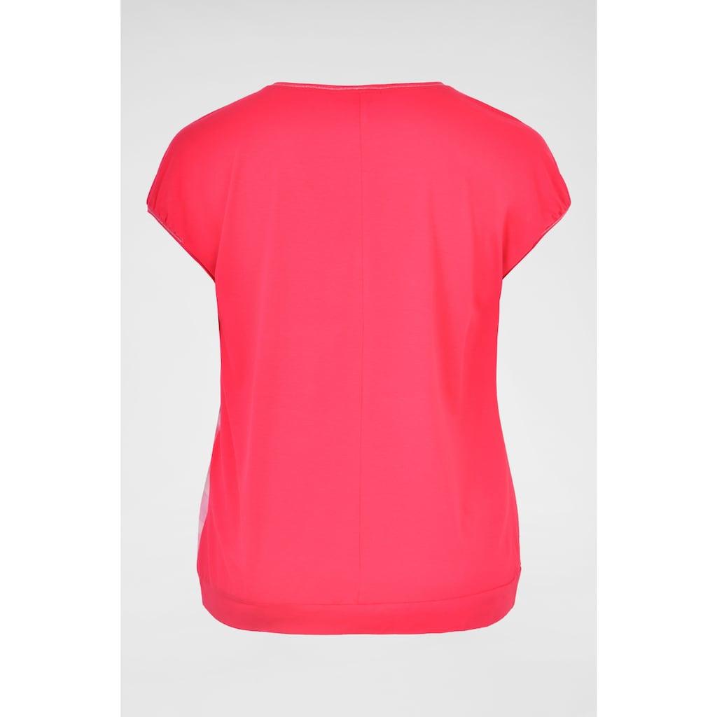 NAVIGAZIONE Più Shirt mit Frucht-Print