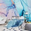 Consalnet Vliestapete »Zerbrochenes Glas«, geometrisch-Farbverlauf