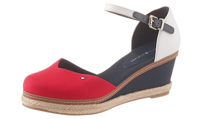 TOMMY HILFIGER Spangenpumps »BASIC CLOSED TOE MID WEDGE« kaufen
