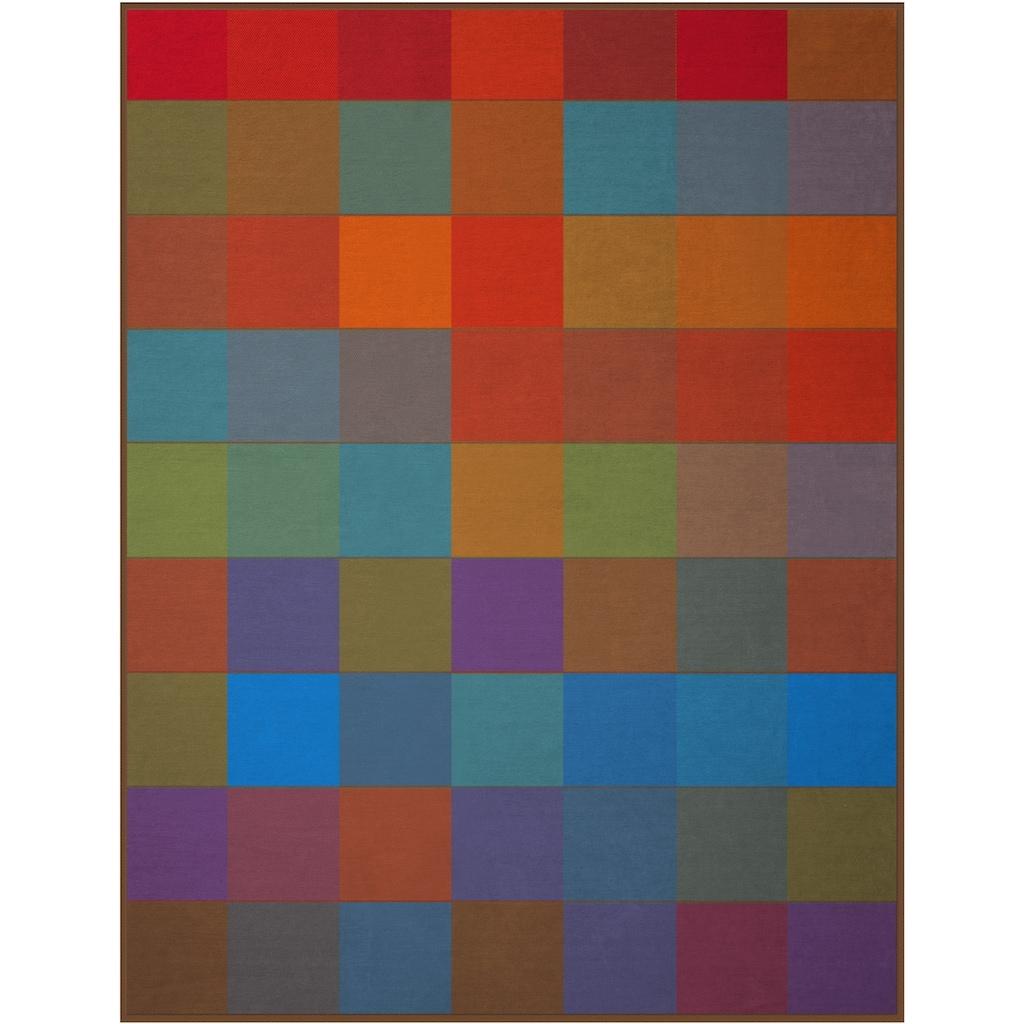 BIEDERLACK Wohndecke »Colormix«, mit bunten Karos