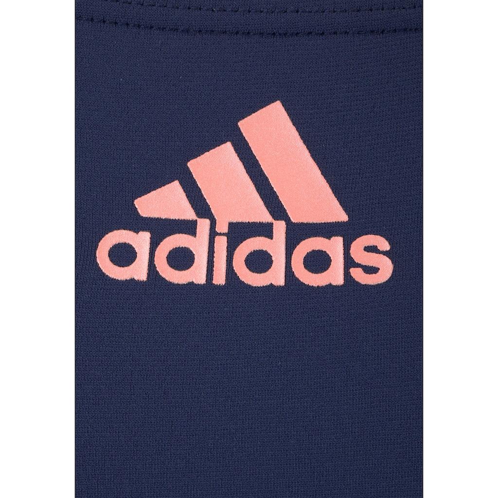 adidas Performance Badeanzug, mit sportlichem Streifenprint