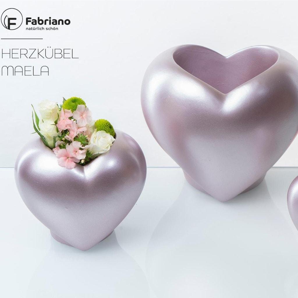 Fabriano Pflanzschale »Herz Maela«, (Set, 2 St.)