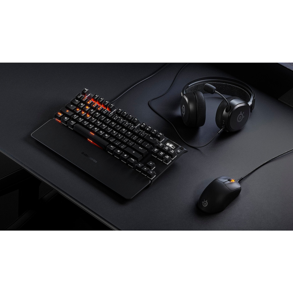 SteelSeries Gaming-Maus »Prime+«, kabelgebunden, 1 MHz