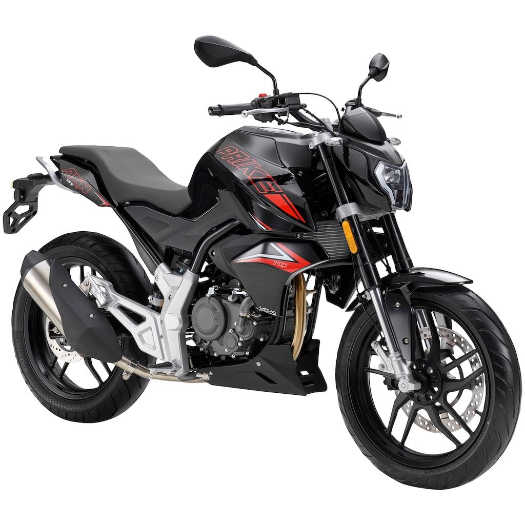 PRIKE Motorrad »PXN 125 Naked«, 125 cm³, 102 km/h, Euro 4, 15 PS