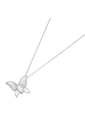 GIORGIO MARTELLO MILANO Kette mit Anhänger »mit Schmetterling, Silber 925« kaufen
